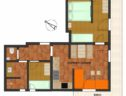 plattegrond appartement edelweiss landhaus sonnheim