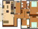plattegrond appartement sonnheim