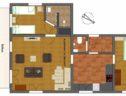 plattegrond appartement grubhorndl