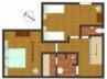 plattegrond appartement kalvaria 2e verdieping