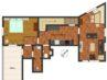 plattegrond appartement kalvaria 1e verdieping