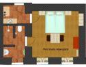 plattegrond mini studio alpenglück